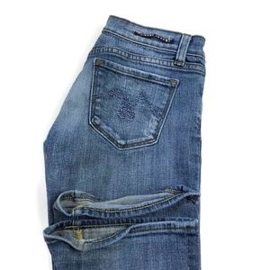 Vigoss Bootcut Blue Light Wash Stretch Jeans